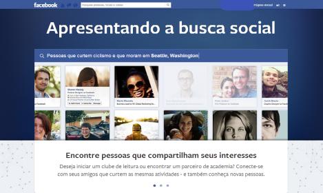 A nova Busca Social apresentada pelo Facebook