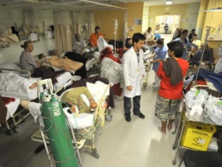 hospitais lotados